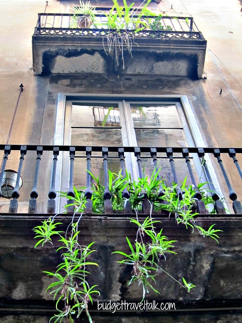Romantic Barcelonan Balcony