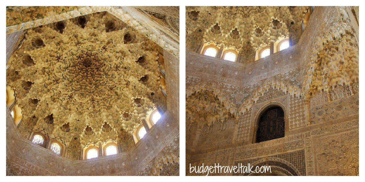 Hall of the two sisters - Palace of the Lions - La Alhambra