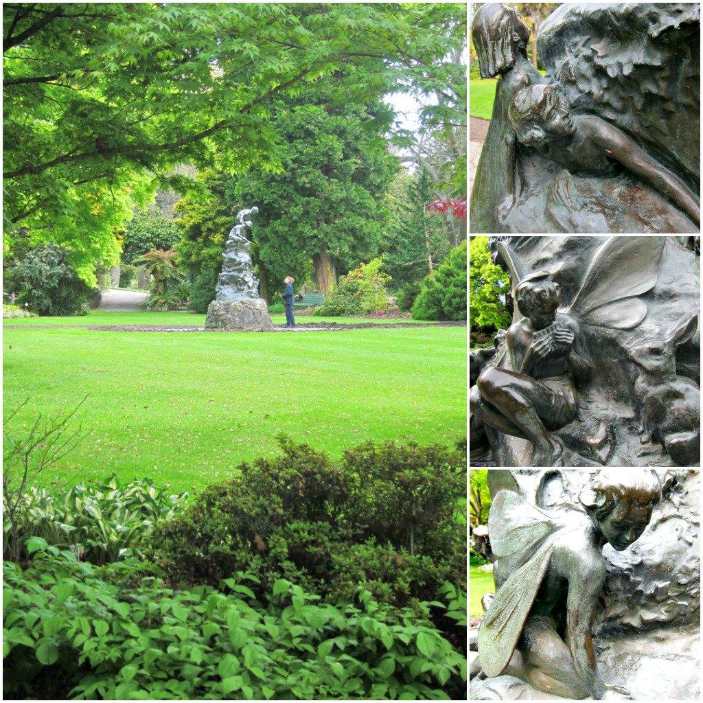 Oamaru Public Gardens - Wonderland Statue