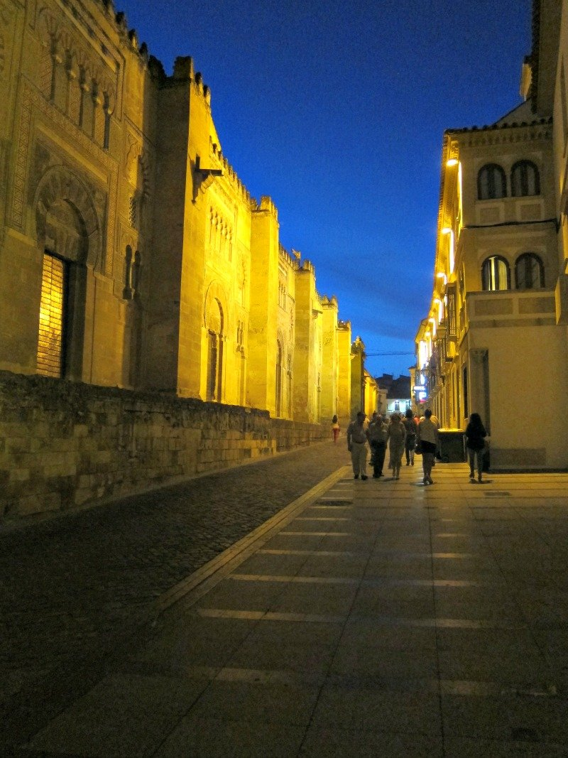 Outside the Mezquita, Cordoba, Spain