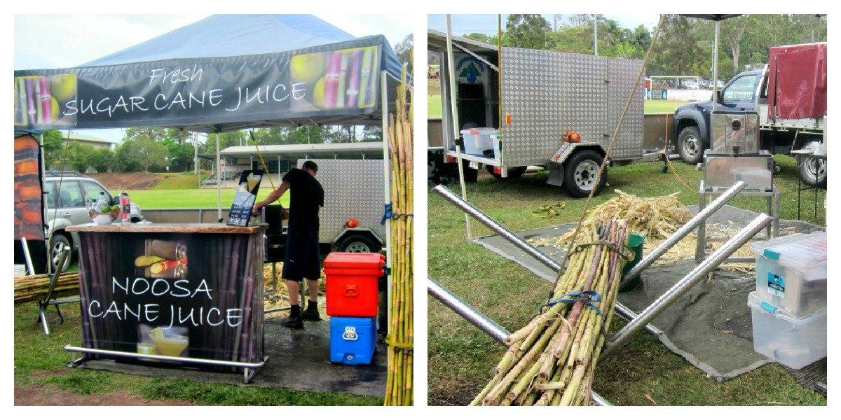 Sugar Cane Juice is very refreshing on a hot day.