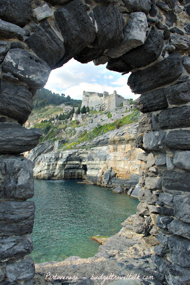 To a castle on a hill - Portovenere, Italy