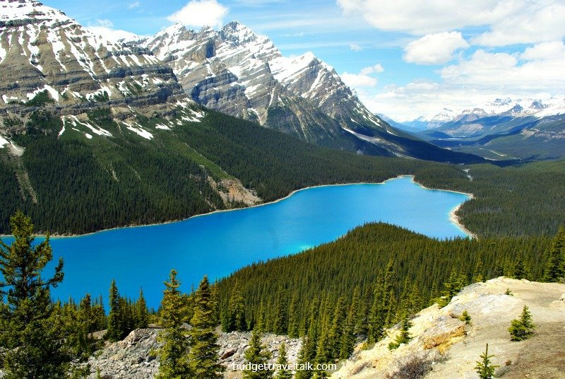 Rocky Mountains Peyto Lake