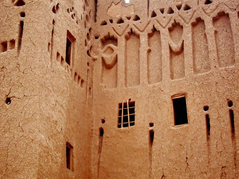 Moroccan Mud Walls