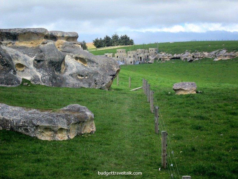 Kingdom Come Movie Set as seen from Elephant Rocks