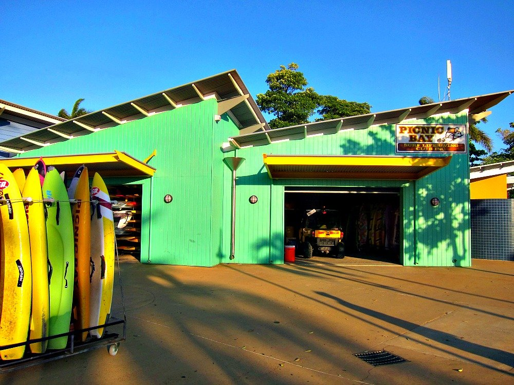 Picnic Bay SLSC on the Strand, Townsville