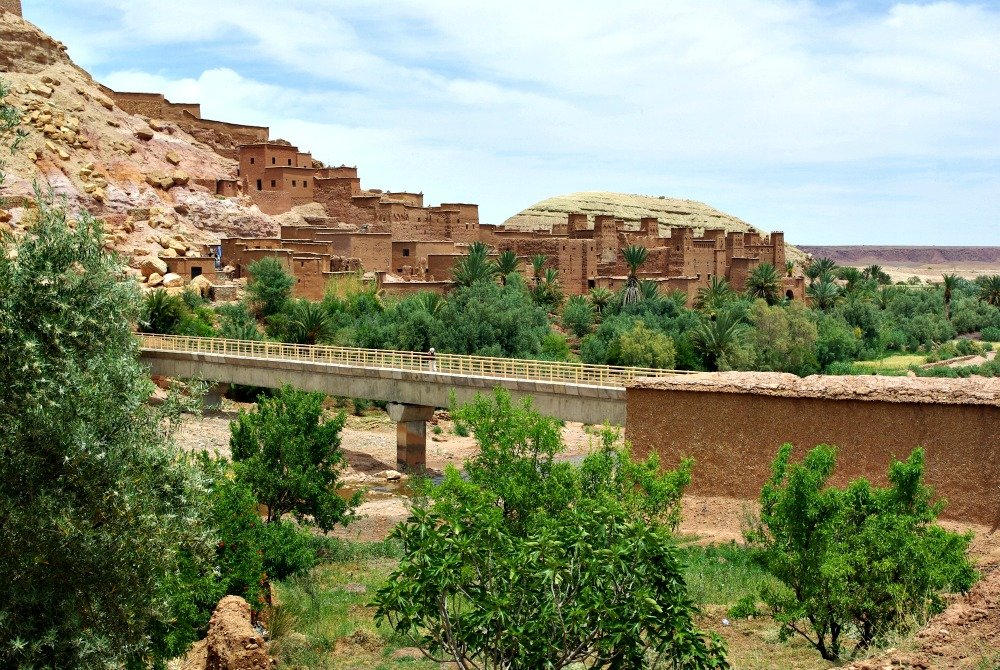 Ait Ben Haddou from the modern town