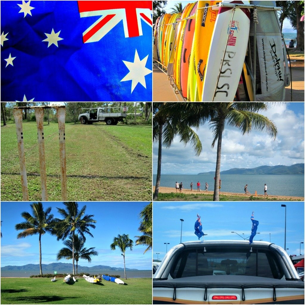 Australia Day Collage