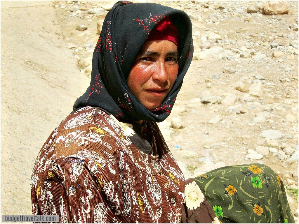 Berber Woman Todra Gorge Morocco