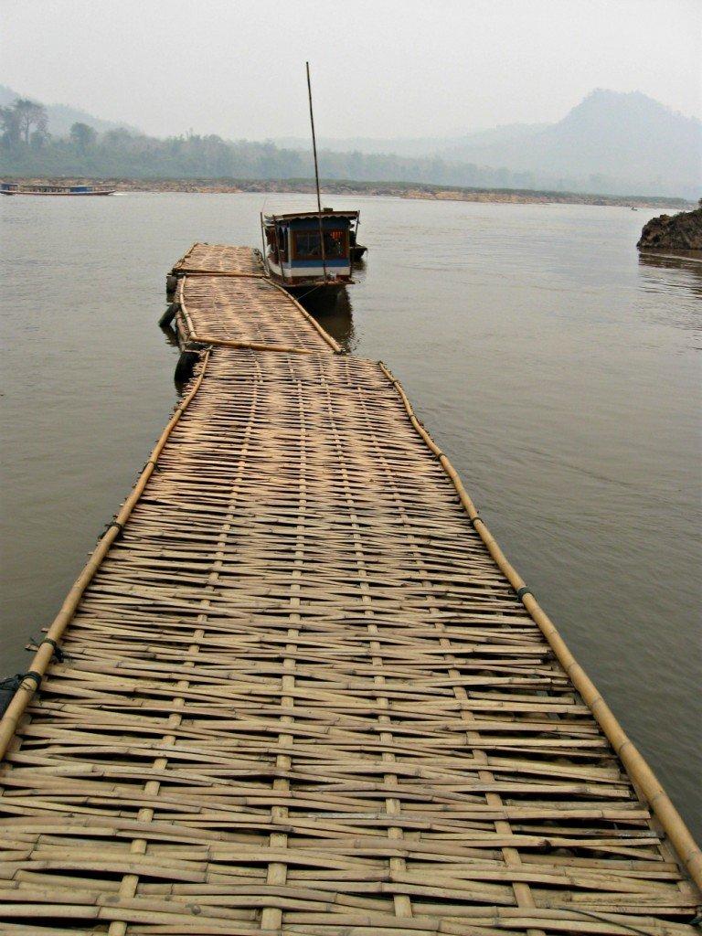 Mekong River Jetty - Pak Ou Caves