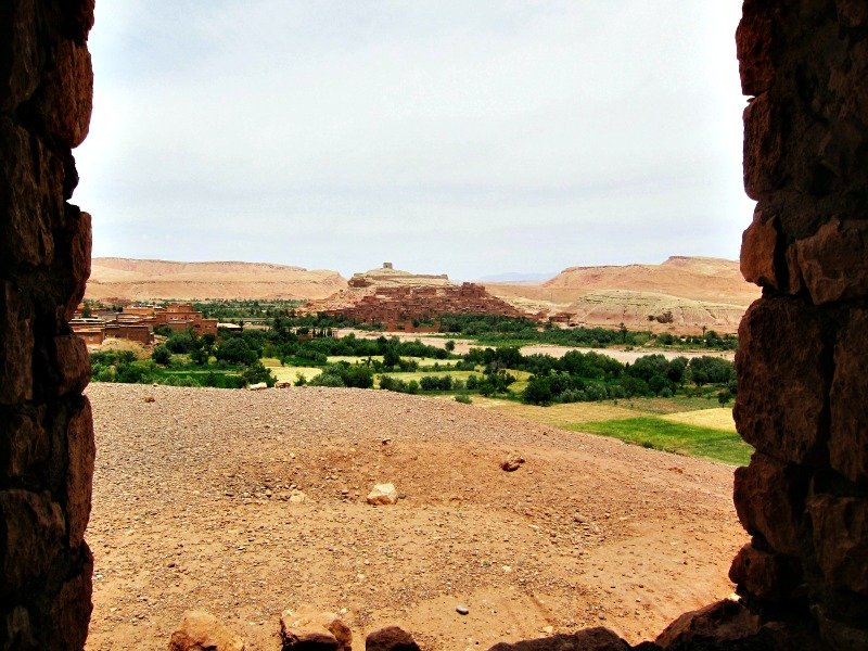 Ait Ben Haddou in the Distance