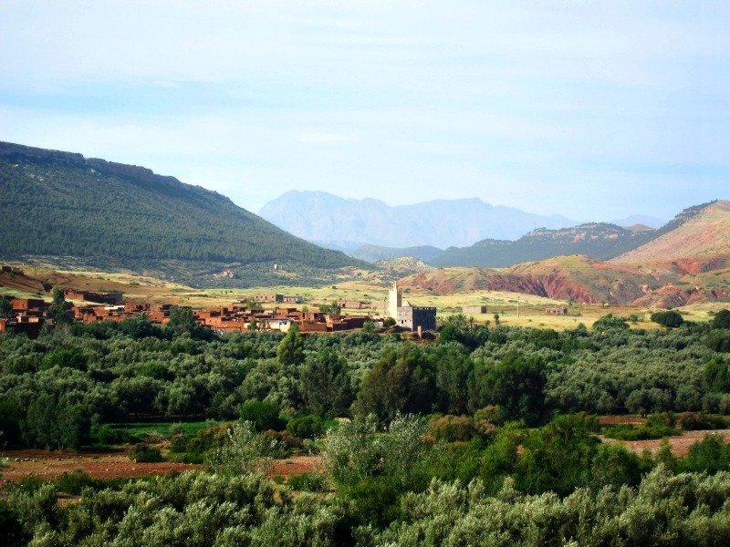 Morocco Atlas Mountains bound