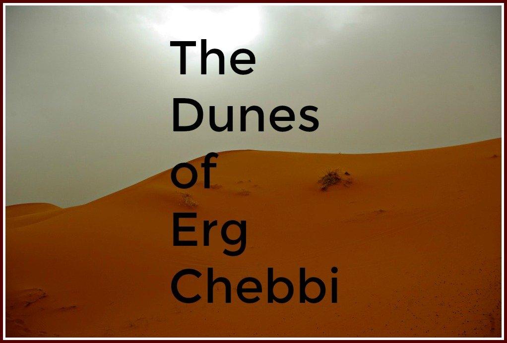 The Dunes of Erg Chebbi Morocco