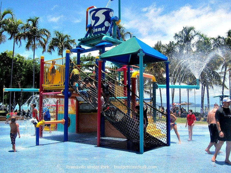 Townsville Water Park is a great way to cool off when the weather is hot and tropical