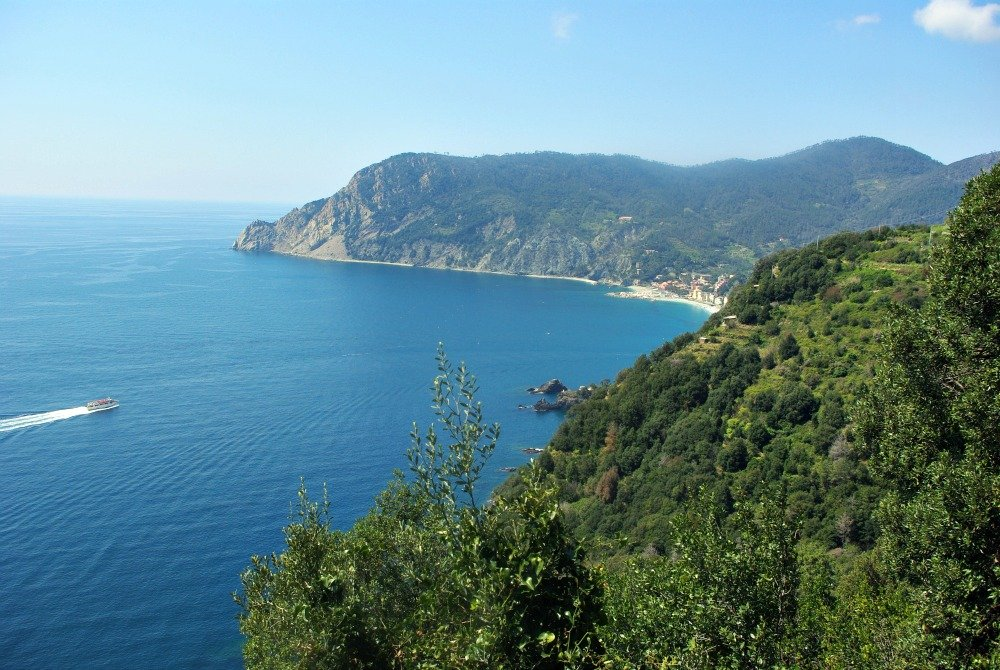 Arriving by boat is popular at the Cinque Terre. Four of the five towns are approachable by boat.