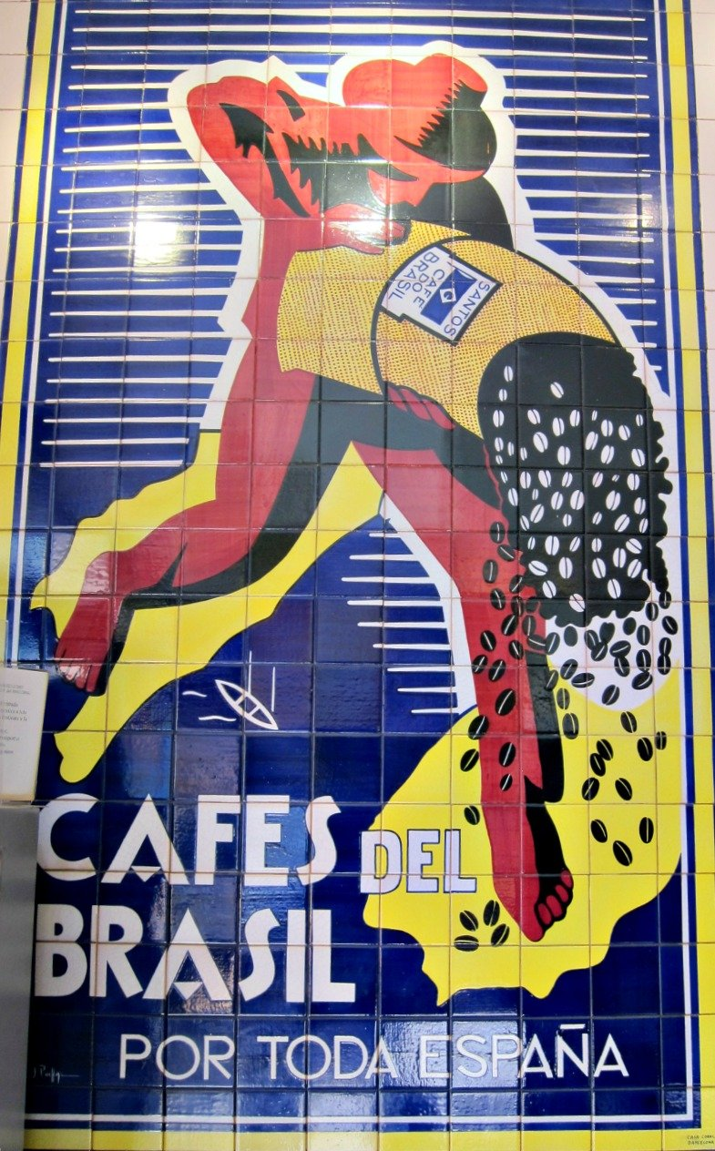 Bracafe was a Barcelona coffee shop chain.