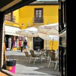 Fantastic Friday – Cordoba Spain has Mustard Coloured Walls
