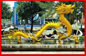 Dragon in Chinatown Saigon