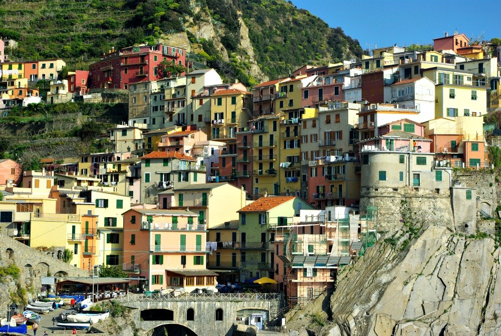 An hour after leaving Corniglia we arrived at Manarola, second last town on the Cinque Terre walk.