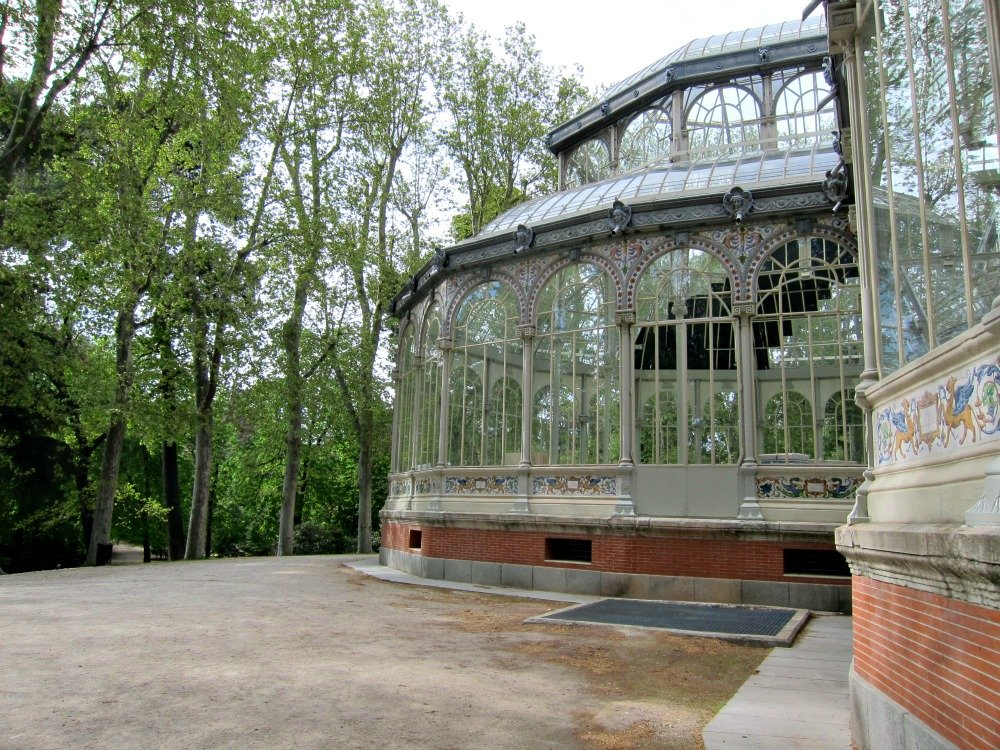 Trees and Garden at Chrystal Palace