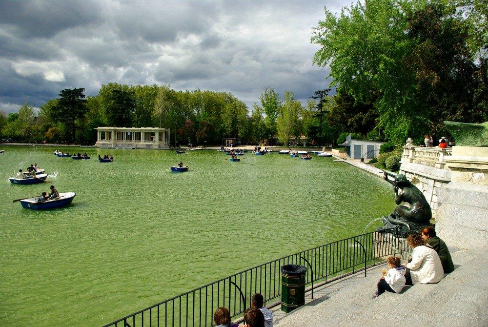 Boating Pond Retiro Park