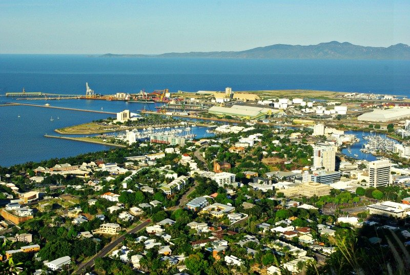 Townsville Port and Cape Cleveland
