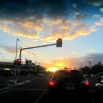 Tuesday in Townsville Sunset Drive Home