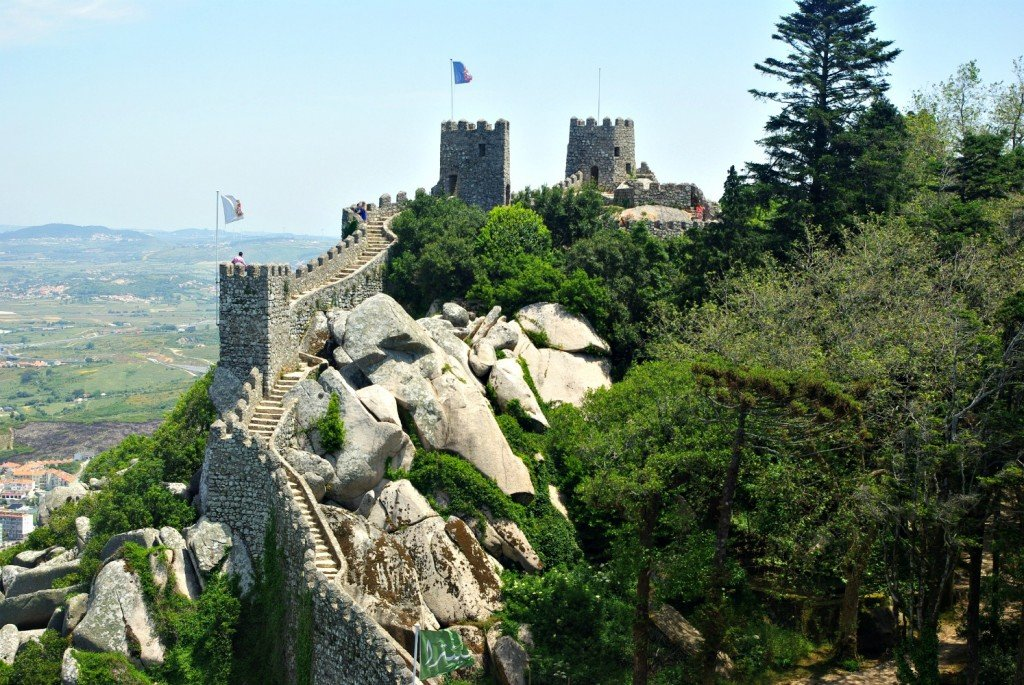 Castello Mouros - Fortifications