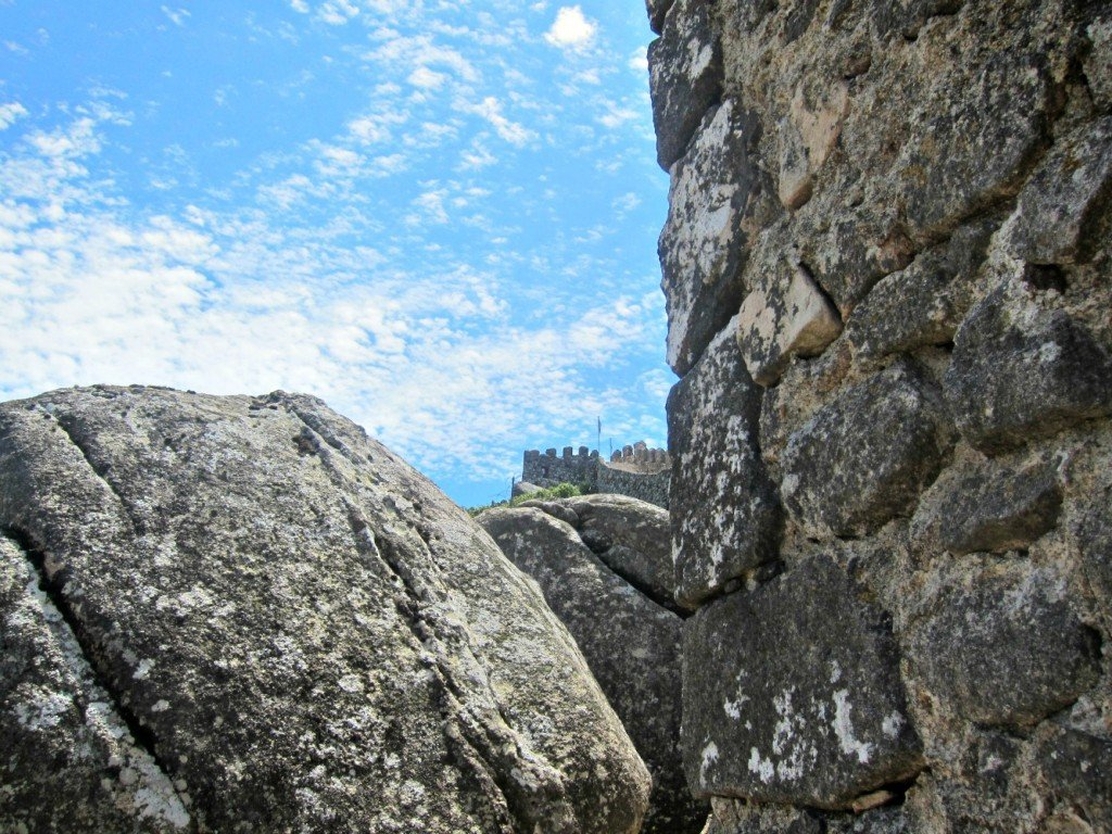 The battlement high point - Castello Mouros