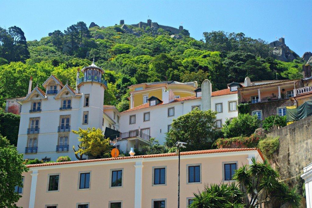 Sintra Buildings plus Castle
