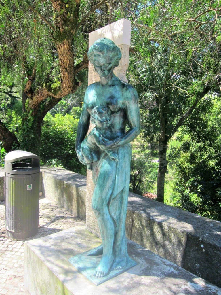 Sintra Statue of woman