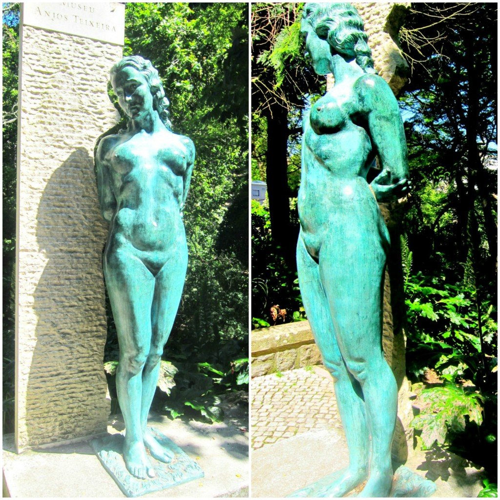 Sintra Naked Woman Statue