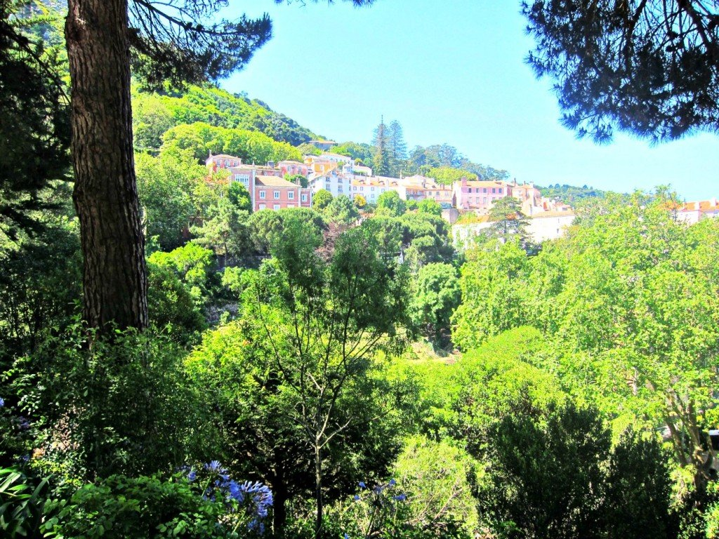 A glimpse of Sintra