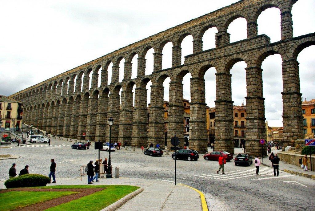 Segovia The View Aqueduct