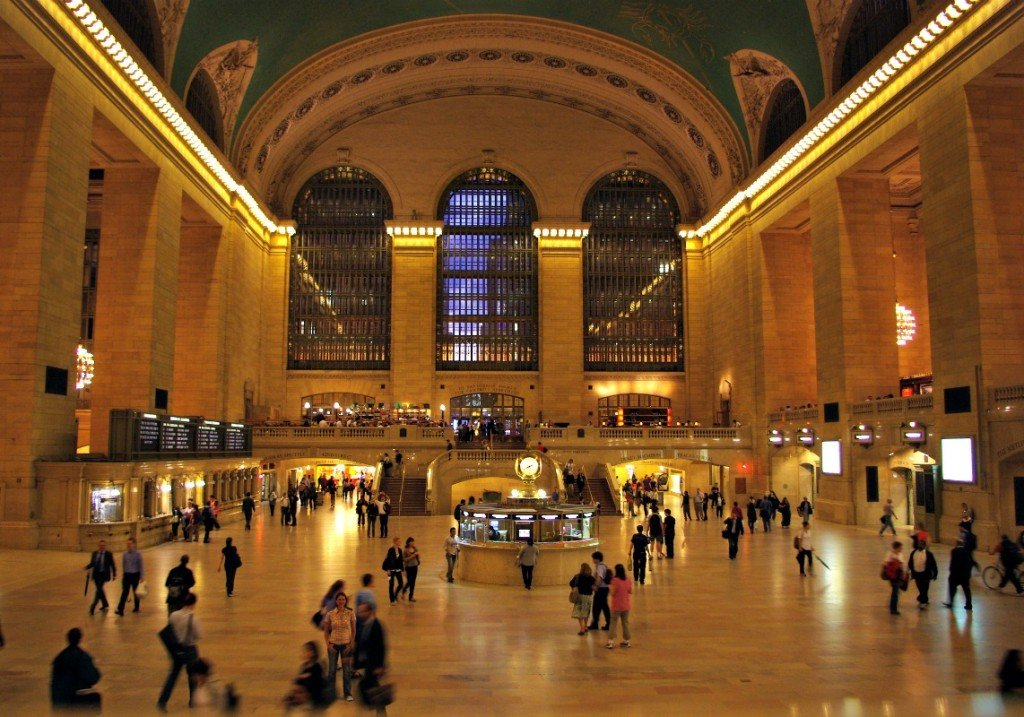 Grand Central Train Station Interior