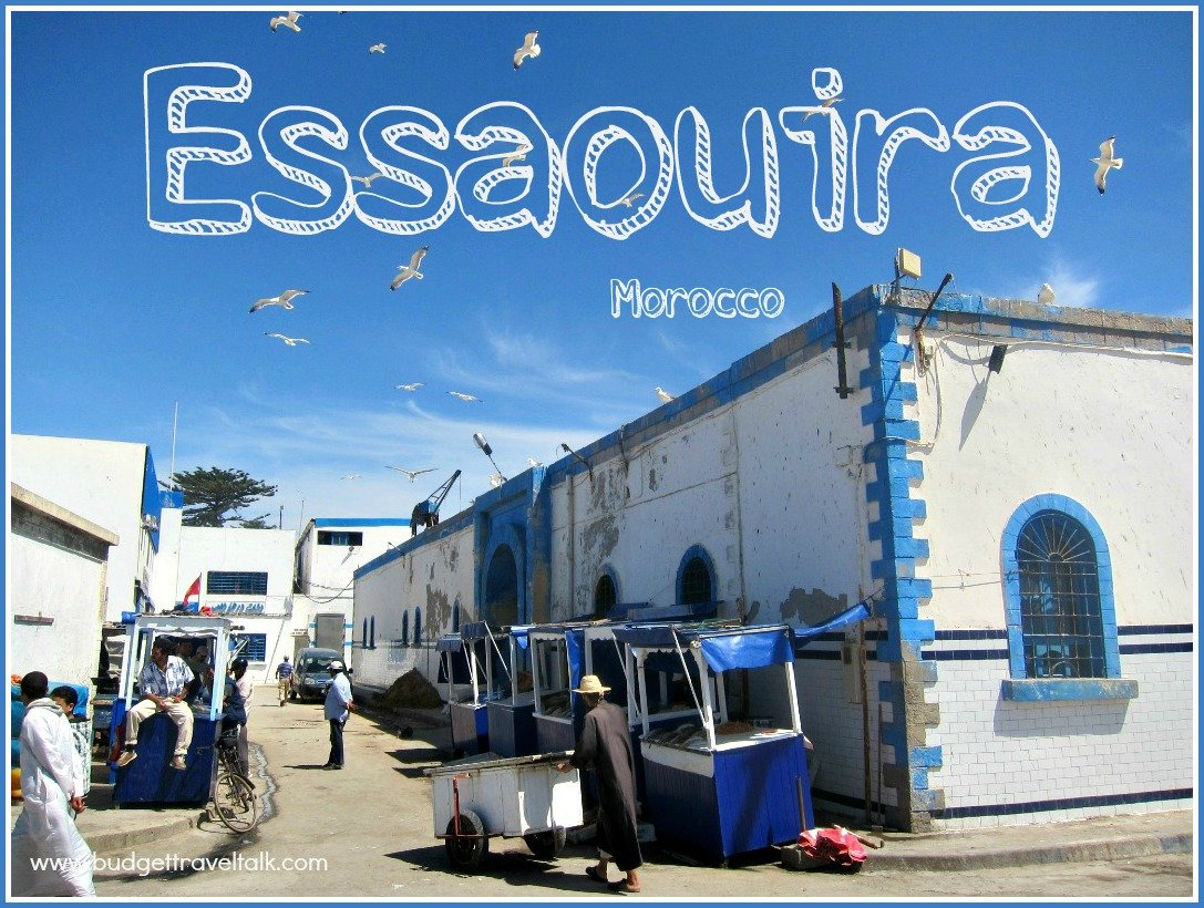 Essaouira a working fishing port in Morocco