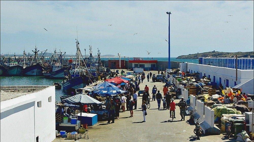 Essaouira Port Scene