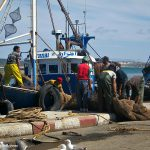 Essaouira: A working fishing port.