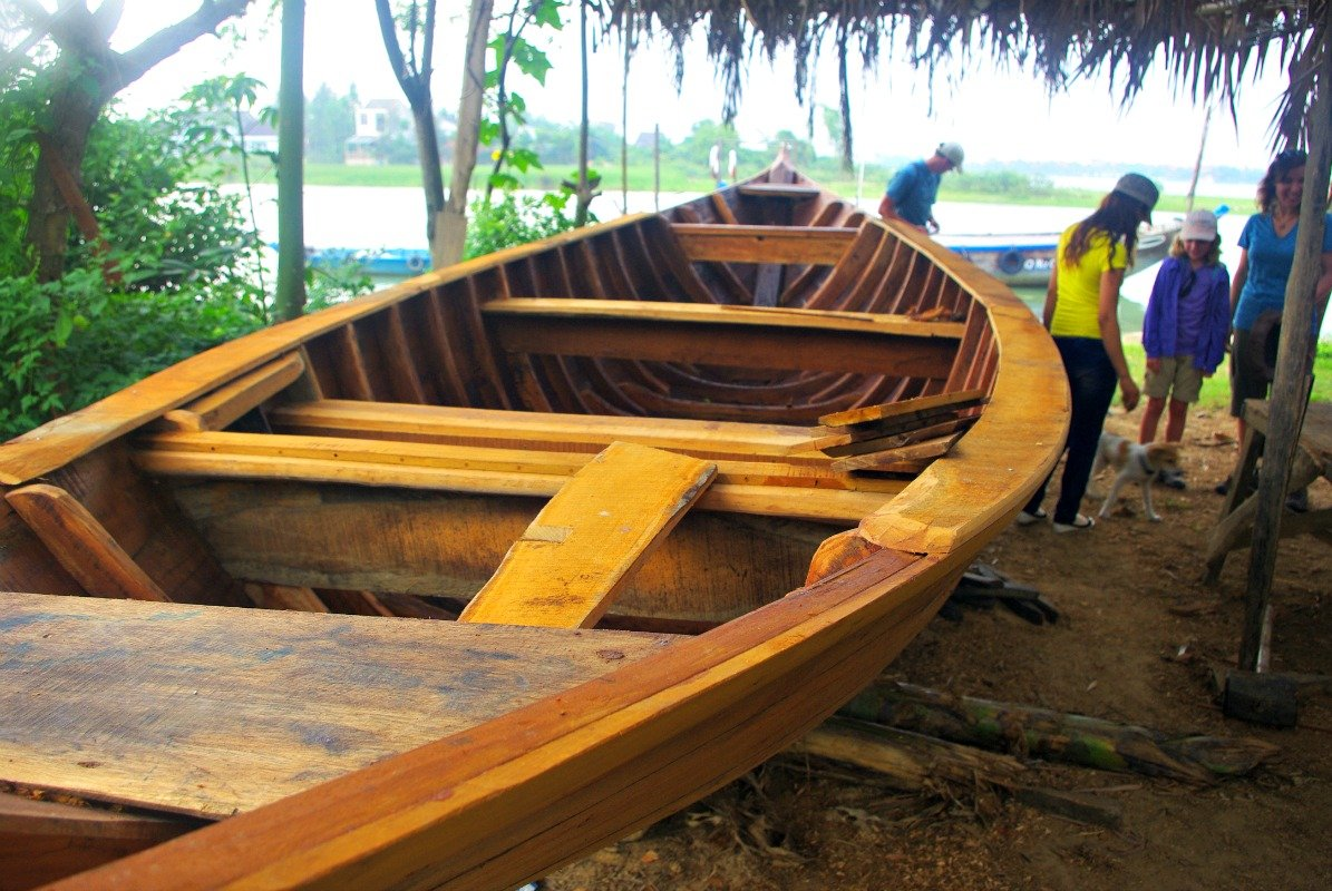Traditional boat making