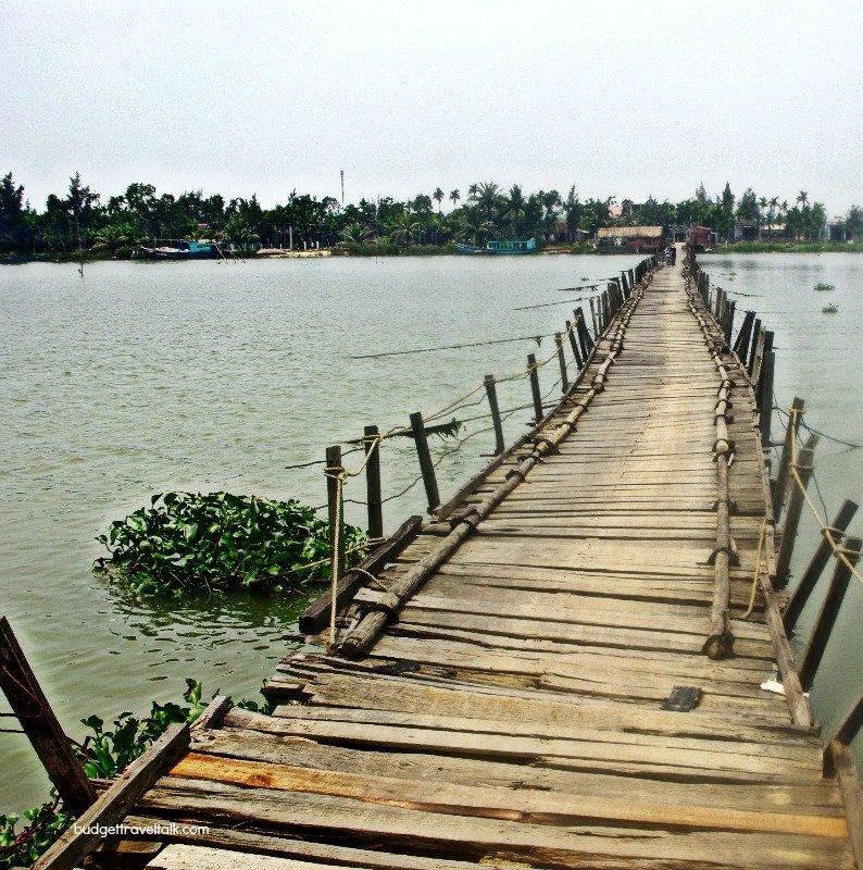 We road across this bridge
