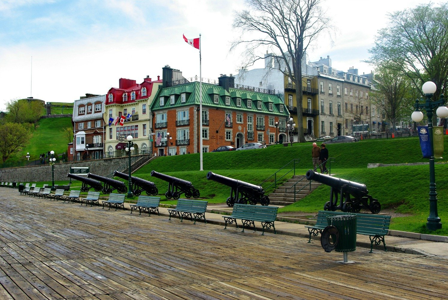 Quebec City Terrasse Dufferin