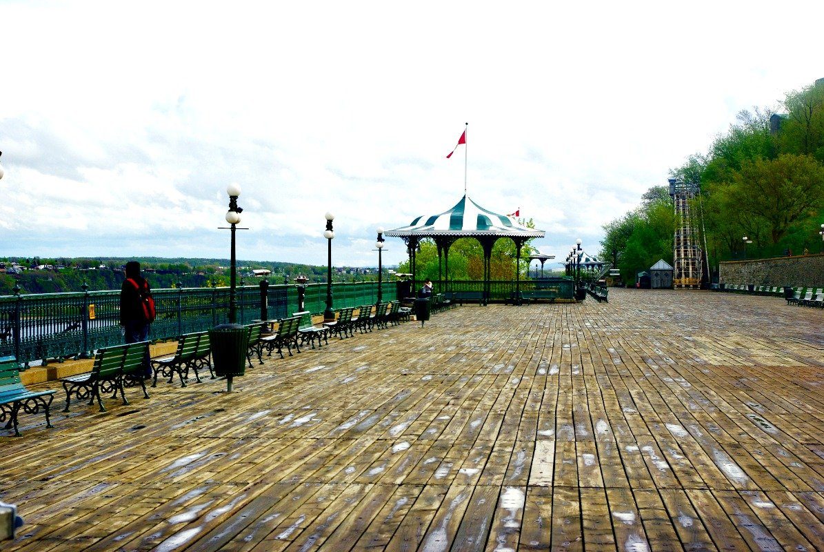 Quebec City Promenade