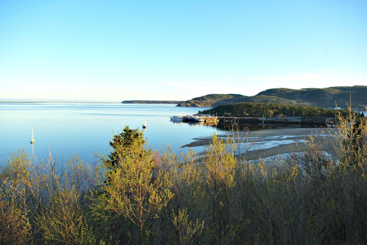 The view from Tadoussac