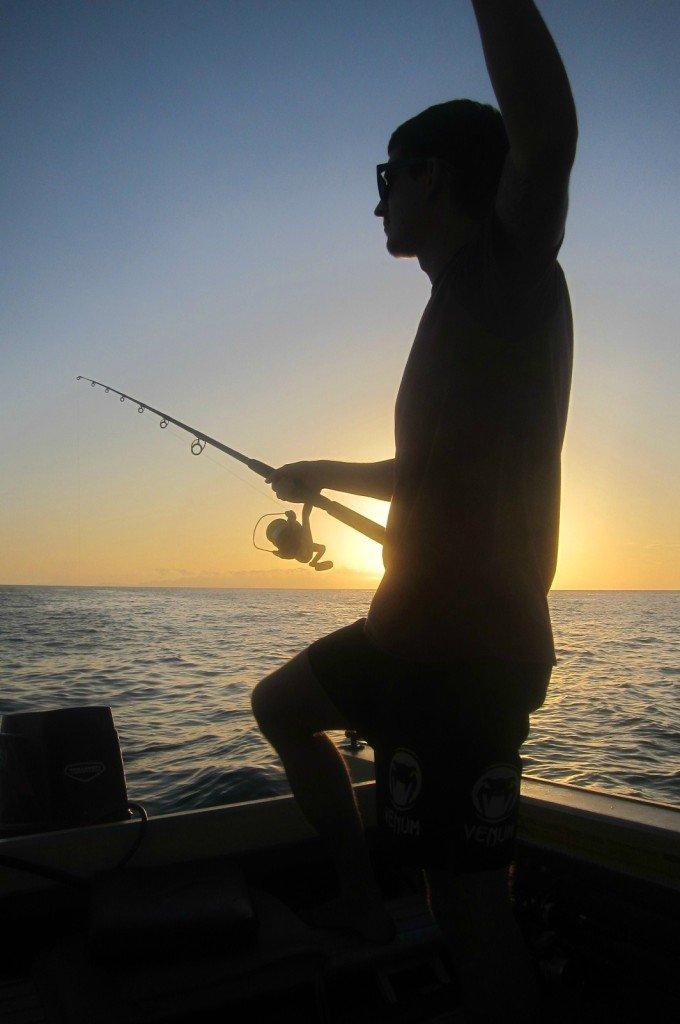 Boating Sunset