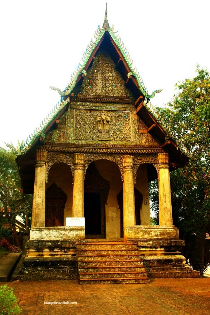 One of approximately thirty three Luang Prabang wats under Unesco World Heritage listing.