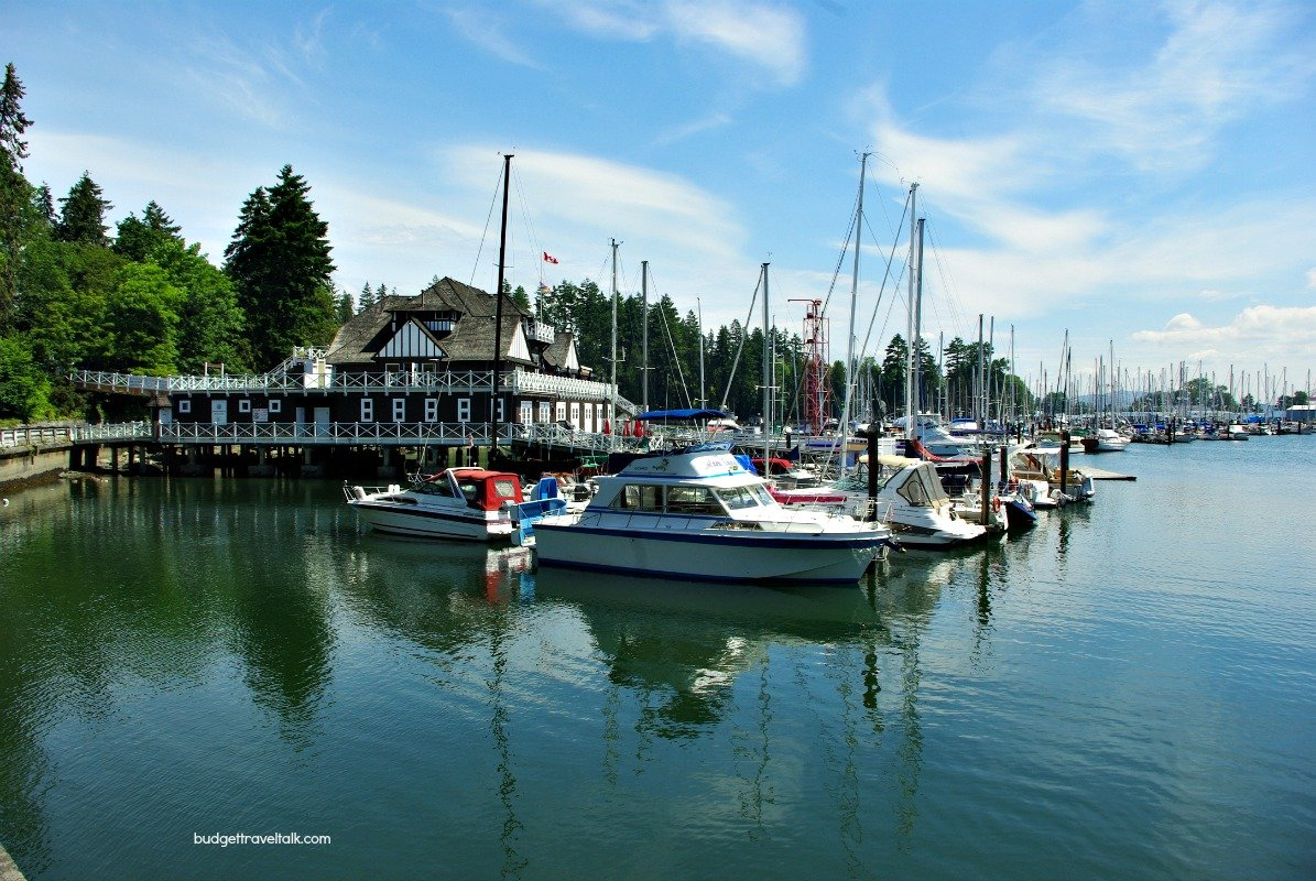 Vancouver boat harbour