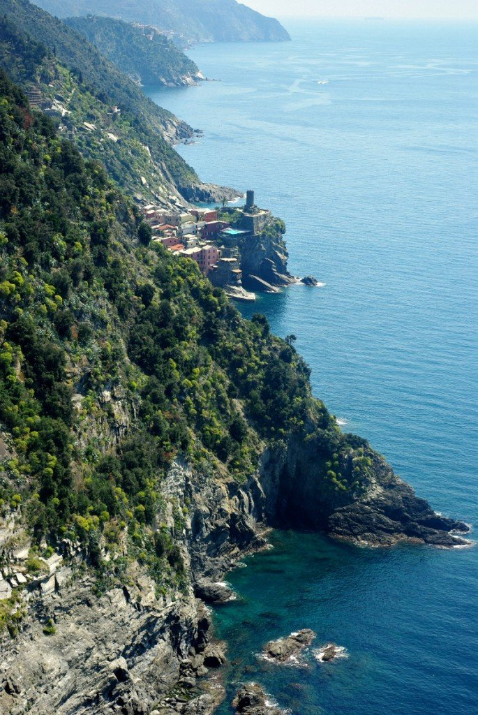 Vernazza from afar