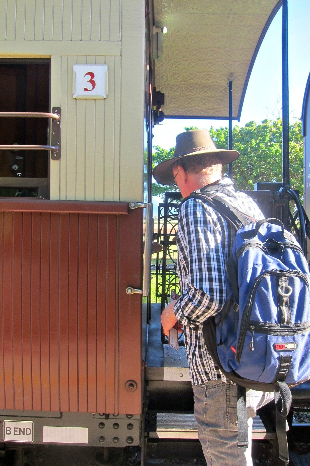 All Aboard d the Kuranda Scenic Railway