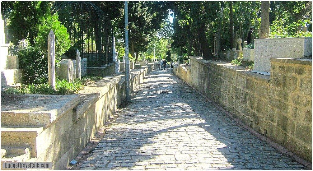 Eyup Cemetery Istanbul Turkey