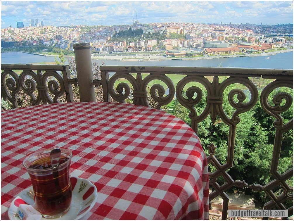 Table with a View Pierre Loti Cafe Eyup Istanbul Turkey